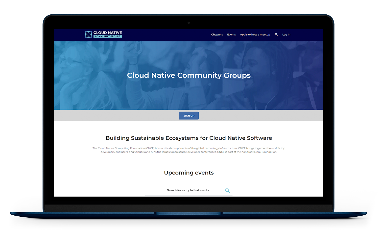 Community Group Sign-up
