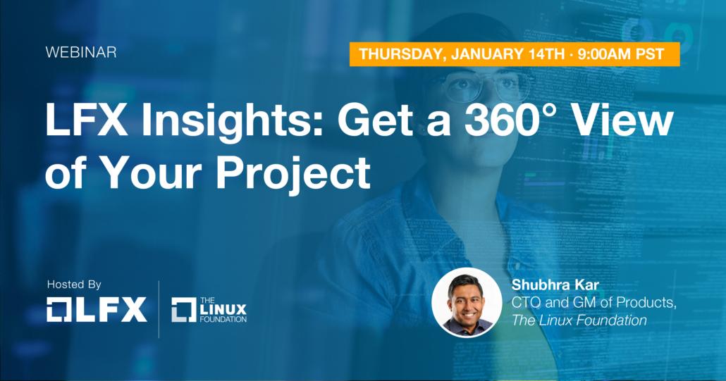 Webinar - LFX Insights (January 14, 2021)