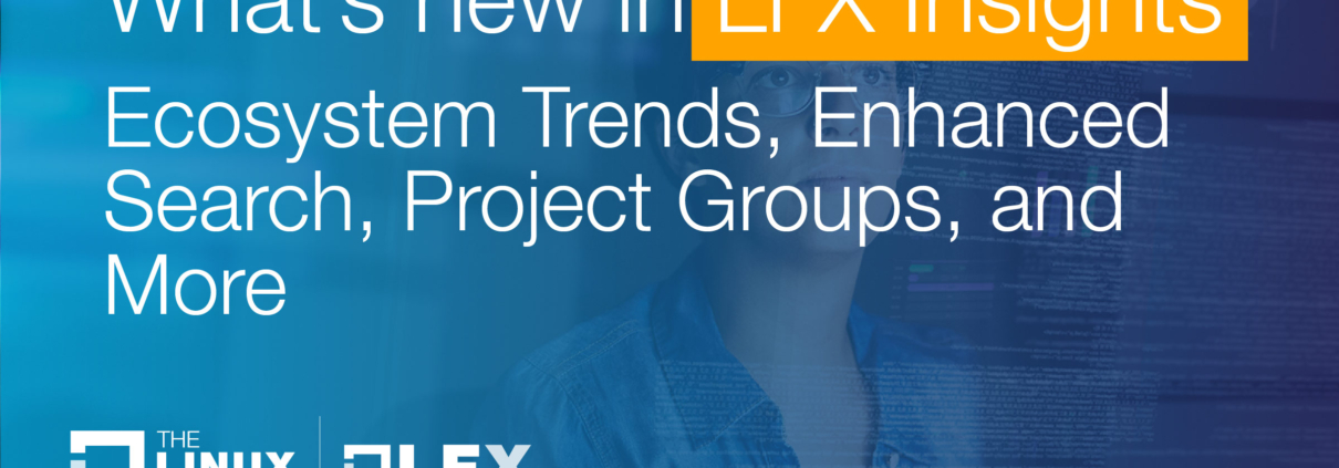 What's New in LFX Insights: Ecosystem Trends, Enhanced Search, Project Groups, and More