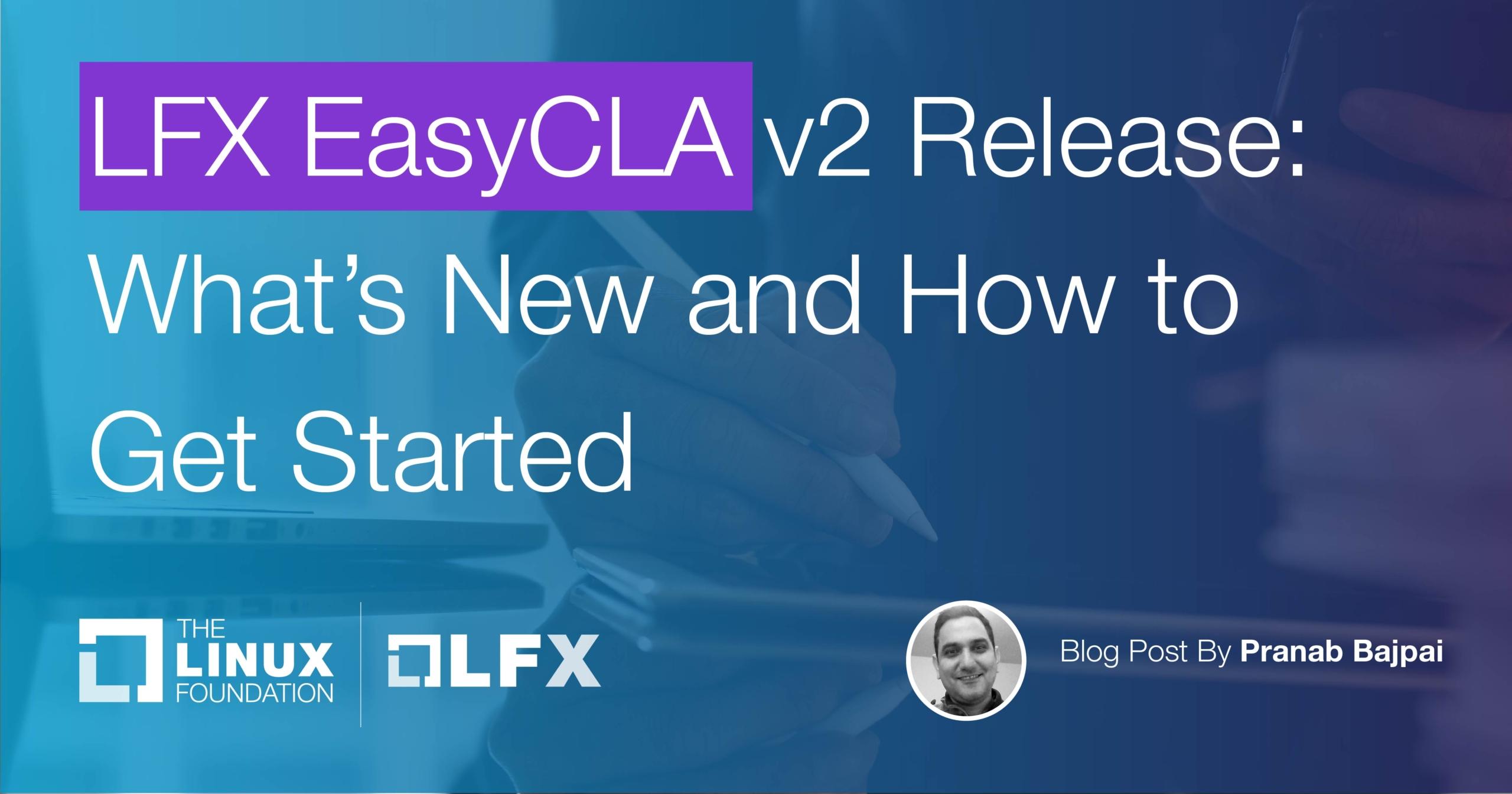 LFX EasyCLA v2 Blog