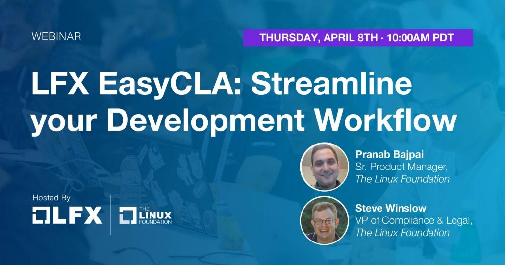 LFX Easy CLA: Streamline your Development Workflow