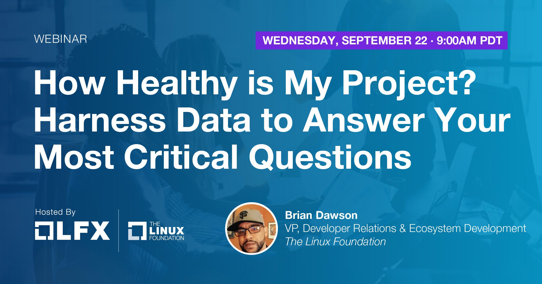 LFX Webinar: Brian Dawson